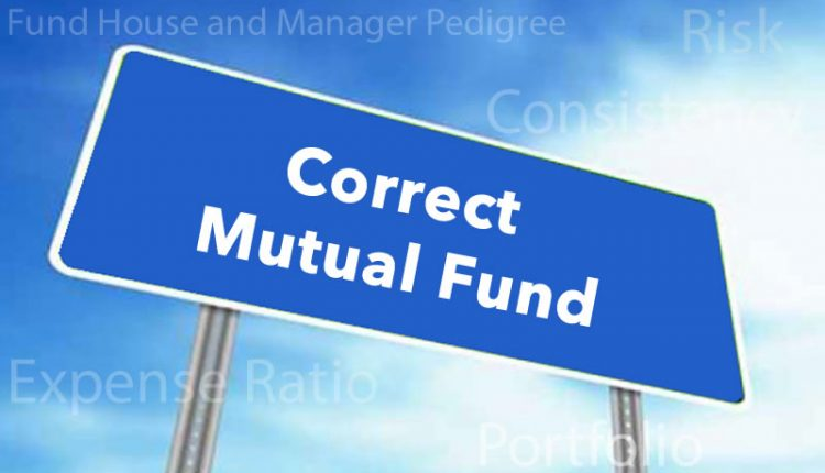 Evaluating the Correct Mutual Fund for Your Portfolio